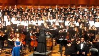 Carl Orff- Carmina Burana, XXV. O Fortuna [Fortuna Imperatrix Mundi] (LaGuardia Arts)