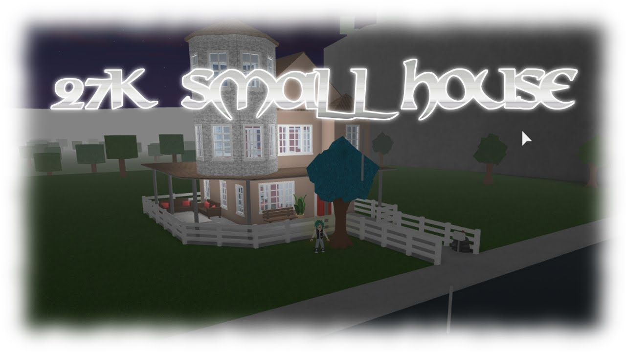 Roblox 27k Small House Bloxburg Youtube