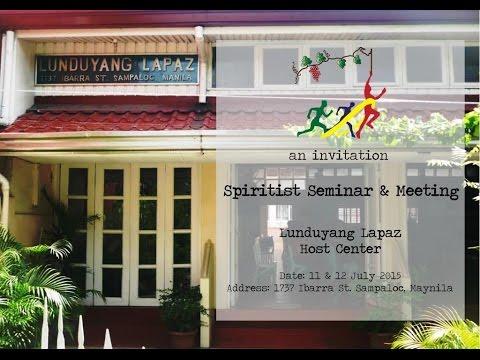 Spiritist Seminar & Meeting