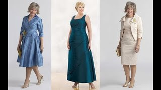 vestidos para señoras de 40 a 50 años a mas | moda 2018