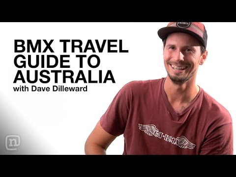 Crooked World Presents: BMX Travel Guide to Australia with GT BMX Pro Dave Dillewaard