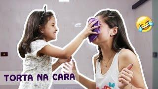 Torta na cara com Marianna Santos