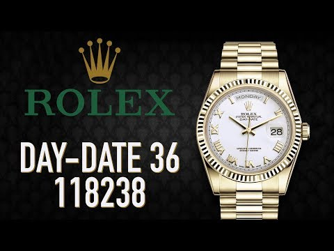Rolex Day-Date 36 Ref. 118238 Review