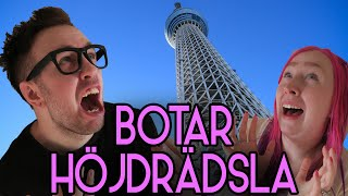 ♥ Jag botar Tomus höjdrädsla - Tokyo skytree