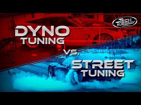 Dyno Tuning vs. Street Tuning