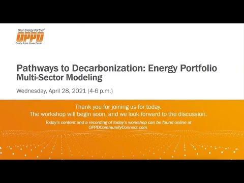 April 28, 2021, Workshop 2: Multi-Sectoral Modeling