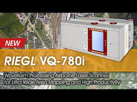 The new RIEGL VQ-780i Waveform Processing Airborne LiDAR System!