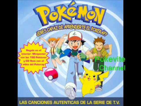Pokemon - La Cancion De Pokemon (Español España)