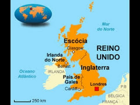 mapa do reino unido ASMR   Mapa REINO UNIDO, INGLATERRA e GRÃ BRETANHA   São a mesma  mapa do reino unido