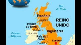 ASMR - Mapa REINO UNIDO, INGLATERRA e GRÃ BRETANHA - São a mesma coisa? - Sussurro - Whisper