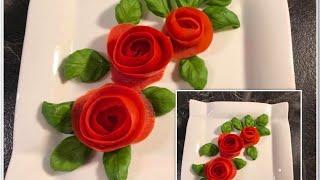 Download Video Tutorial bunga mawar dari buah tomat #19 MP3 3GP MP4
