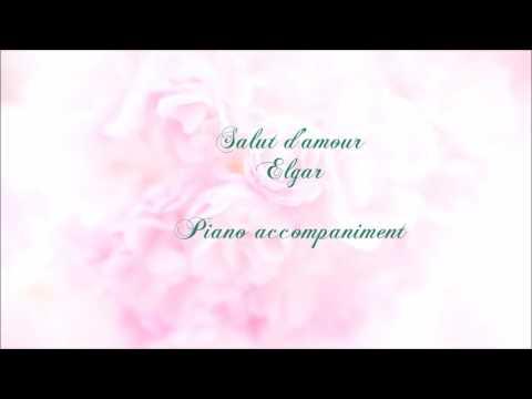 Salut d'amour /Elgar piano accompaniment D-Dur