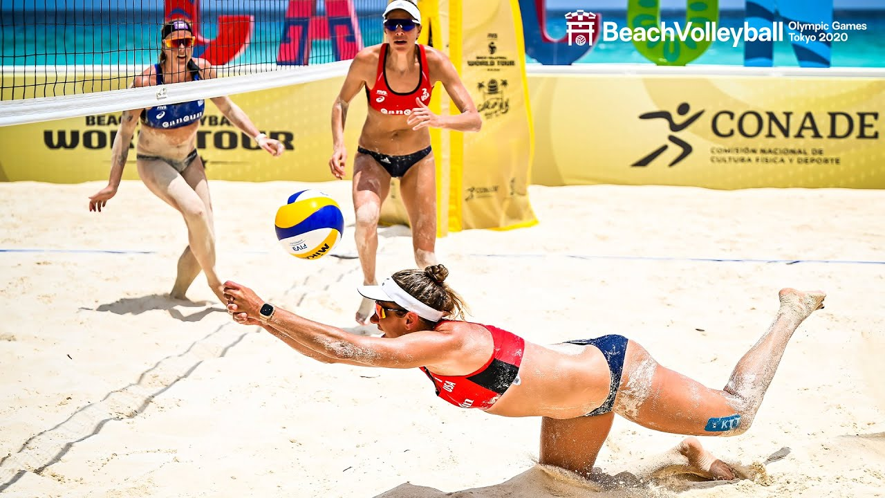 Most Epic Plays of Alix/April 🇺🇸  The A-Team aims for GOLD! | Beach Volleyball World