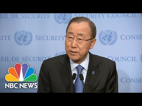 UN Secretary-General 'Deeply Concerned' By North Korea's Nuclear Test | NBC News