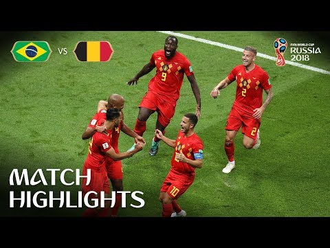 Brazil v Belgium | 2018 FIFA World Cup | Match Highlights