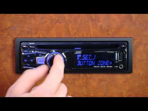 JVC Separated Variable Color Display - YouTube