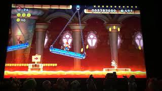 New Super Mario Bros U speed run (silent)