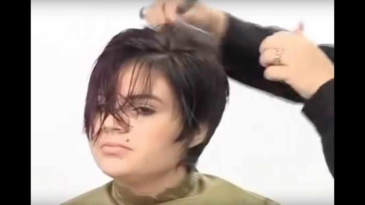 Cortes de pelo mujer en videos