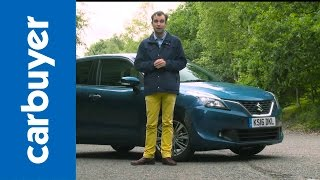 Suzuki Baleno hatchback 2016 review – Carbuyer(, 2016-07-27T12:16:36.000Z)