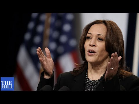 Kamala Harris: CLIMATE CHANGE is major cause of migration to US from Latin America