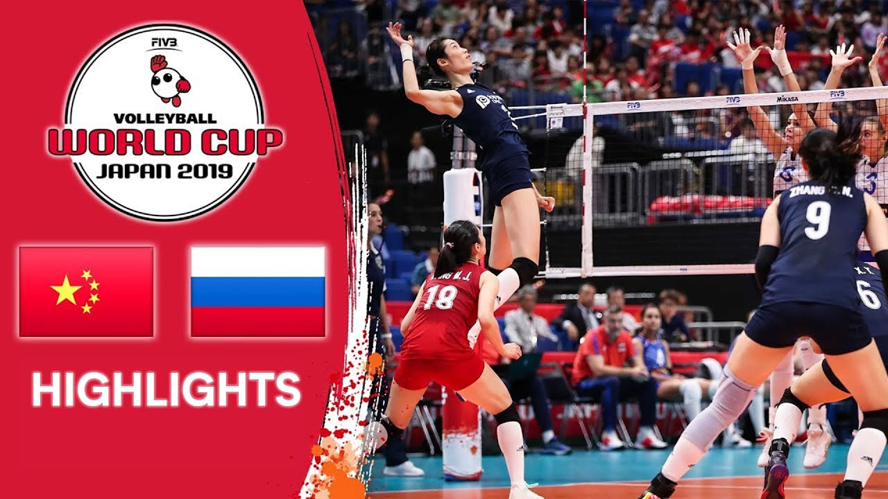 China Vs Russia Highlights Women S Volleyball World Cup 2019 Youtube