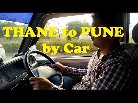 Thane to Pune Round Trip By Car
