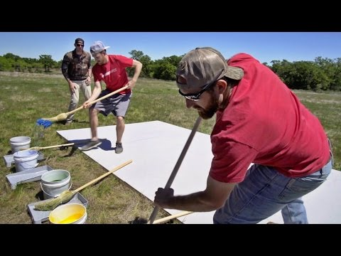 Giant Pictionary Team Battle | Dude Perfect