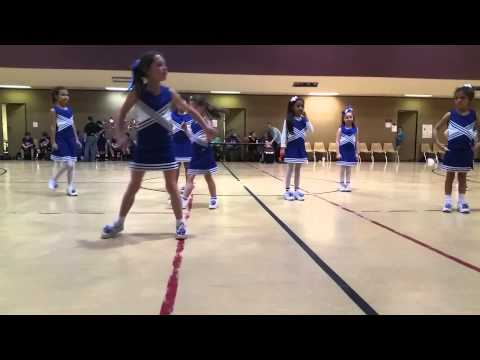 Albuquerque Christian School cheerleaders.