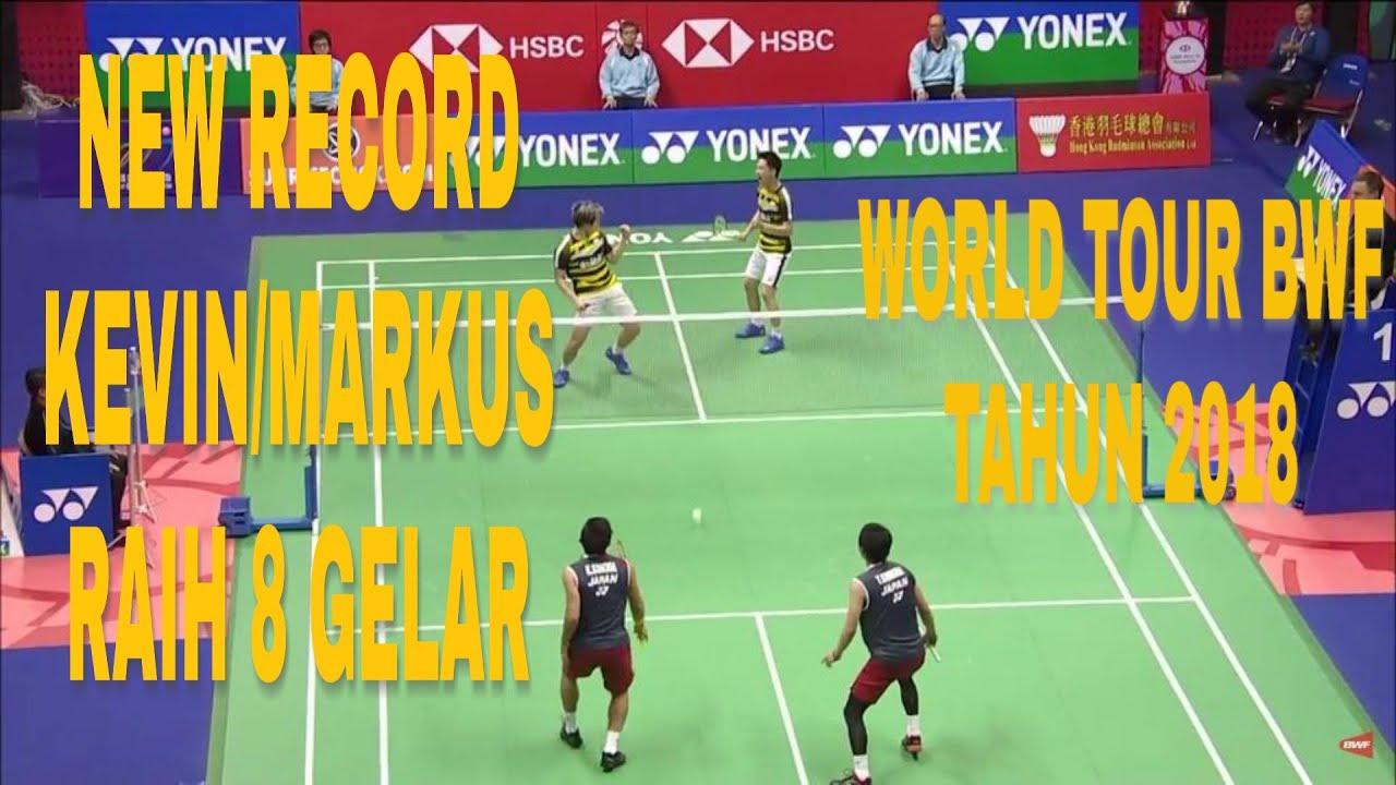 Download REKOR BARU!! MARKUS GIDEON/KEVIN SANJAYA VS TAKESHI/KEYGO | FINAL HONGKONG OPEN 2018