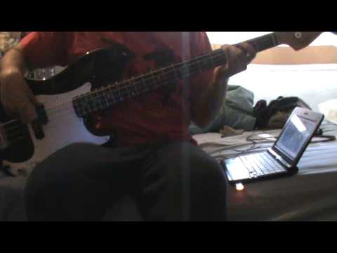 Space Age Love Song Bass Cover