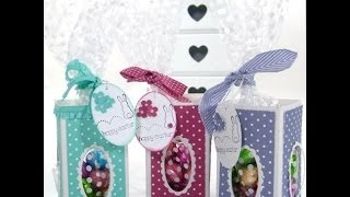 Easter Window Treat Boxes By Stampin' Up! Uk Independent Demonstrator Pootles