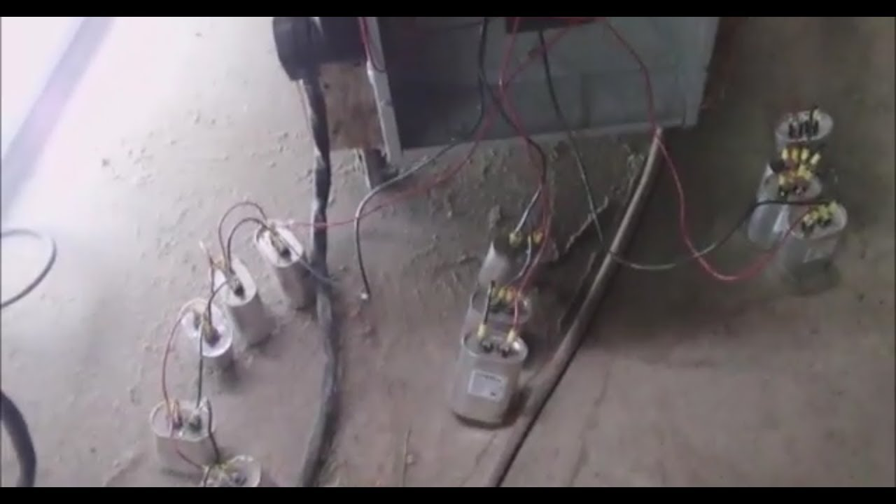 building balancing tuning a 15 hp 3 phase rotary converter with 3 phase connector wiring 3 phase converter wiring [ 1280 x 720 Pixel ]