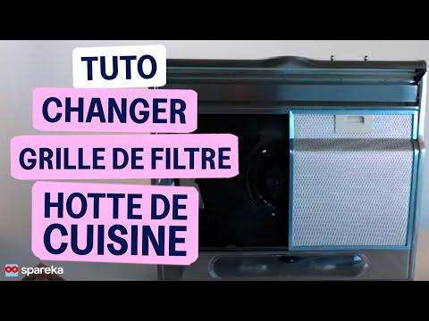 Remplacer Le Filtre Métallique De Votre Hotte De Cuisine - Youtube