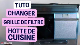 Remplacer le filtre métallique de votre hotte de cuisine