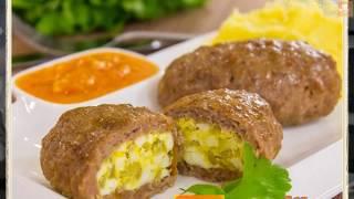 Зразы мясные с яйцом и луком
