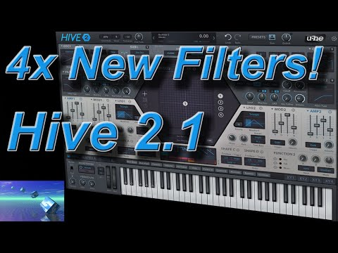 Hive 2 1 Update - 4x New Filters!