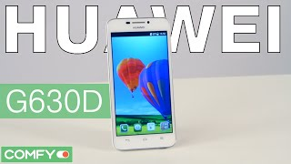 Видеодемонстрация смартфона Huawei G630D от Comfy