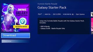 le NOUVEAU Galaxy Starter Pack à Fortnite...
