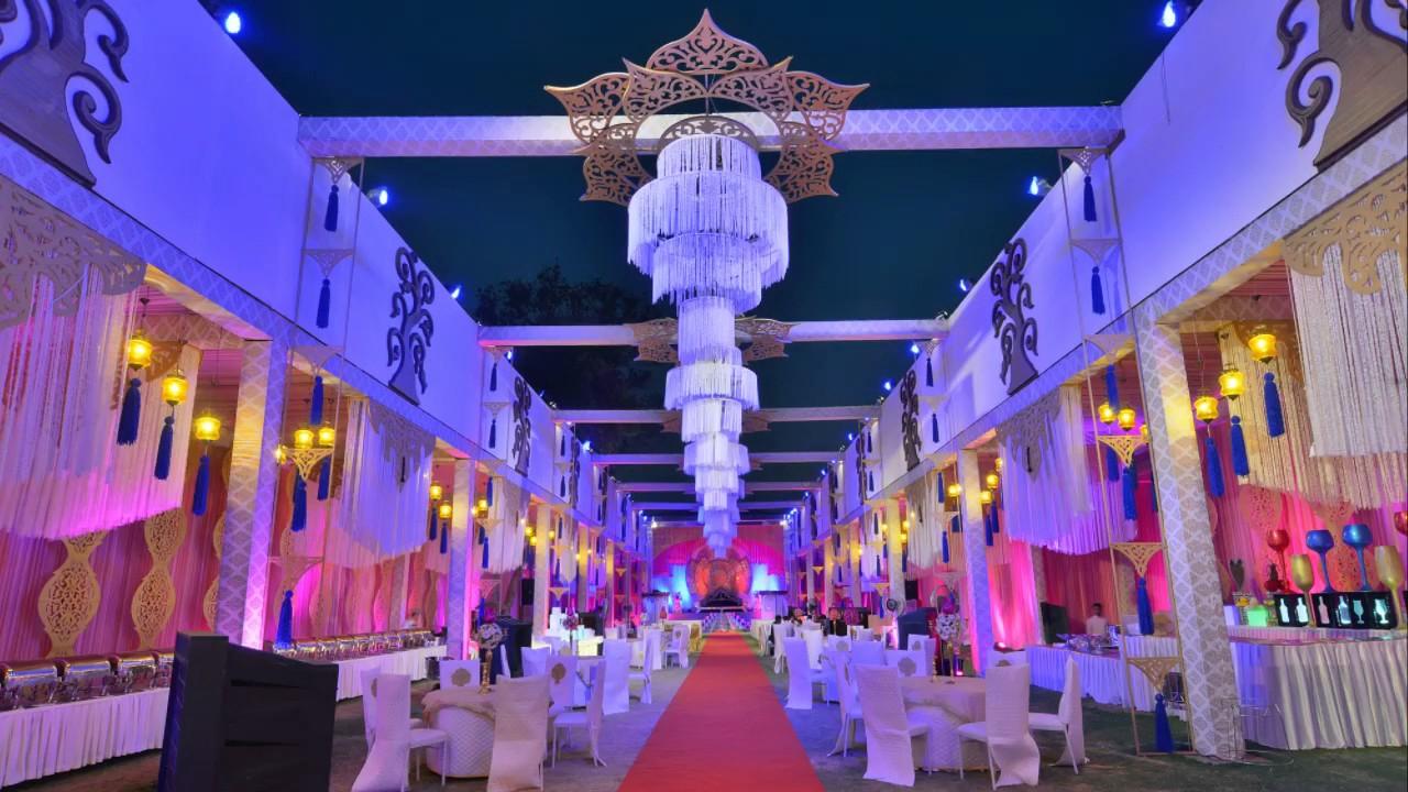 Indian Wedding Reception Themes Choice Image Decoration