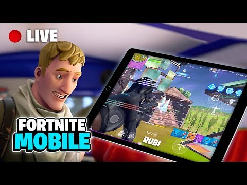 🔴 Fortnite Mobile Live Stream / 1250+ Wins 😏 / iPad 4 finger Claw (Chapter 2 Season 2 Gameplay) from YouTube · Duration:  4 hours 51 minutes 11 seconds