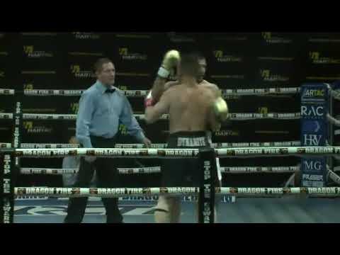 Perth Boxing Thunderdome 22 - oct 2017- super middle wieght title - Allison vs Caruso