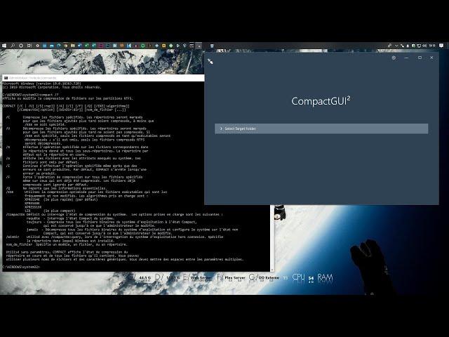 Compresser tout le système d'exploitation de Windows 10
