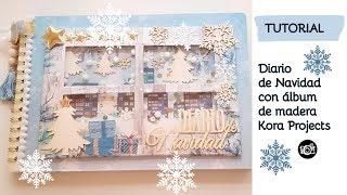 Tutorial diario de navidad con KORA PROJECTS