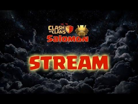 """Стрим """"Clash of Clans"""" [SALOMON]"""