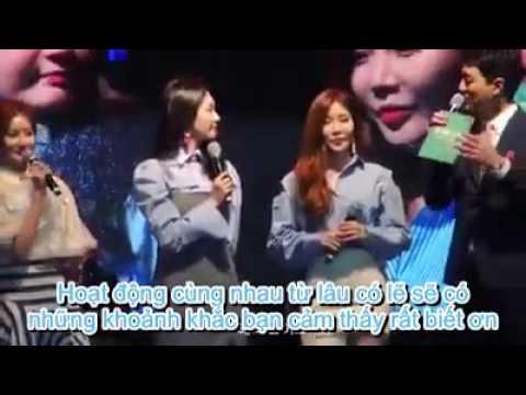 [vietsub] [Davichi] Min Kyung Thanks For Haeri's Existence