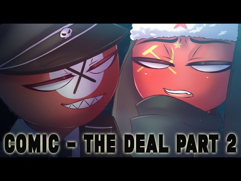 Mini Comic part 2 - The Deal - Naz x USSR (Country Humans)