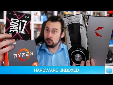 Ryzen 5 1600 Vs. Core I7-7700K Using Vega 64 & GTX 1080