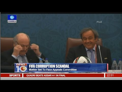 News@10: Blatter Set To Face Appeals Committee Over Corruption Scandal 15/02/16 Pt.4