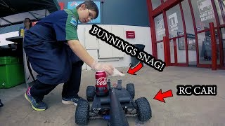 BUNNINGS SNAG, RC CAR DELIVERY 4G MOD Original! [AWESOME]