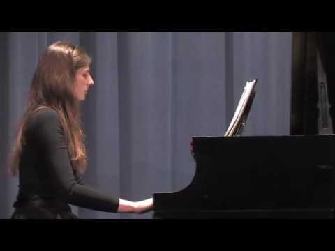 Darius Milhaud - Tijuca / Sumare, performed by Andree-Ann Deschenes
